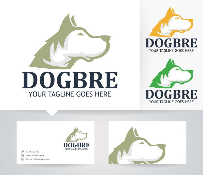 狗公司-矢量标识模板