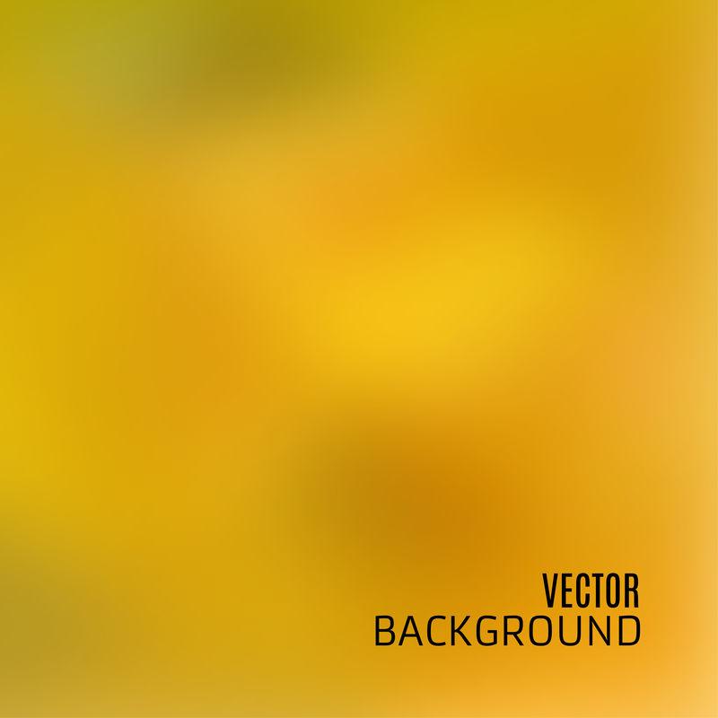 黄绿C的模糊离焦背景