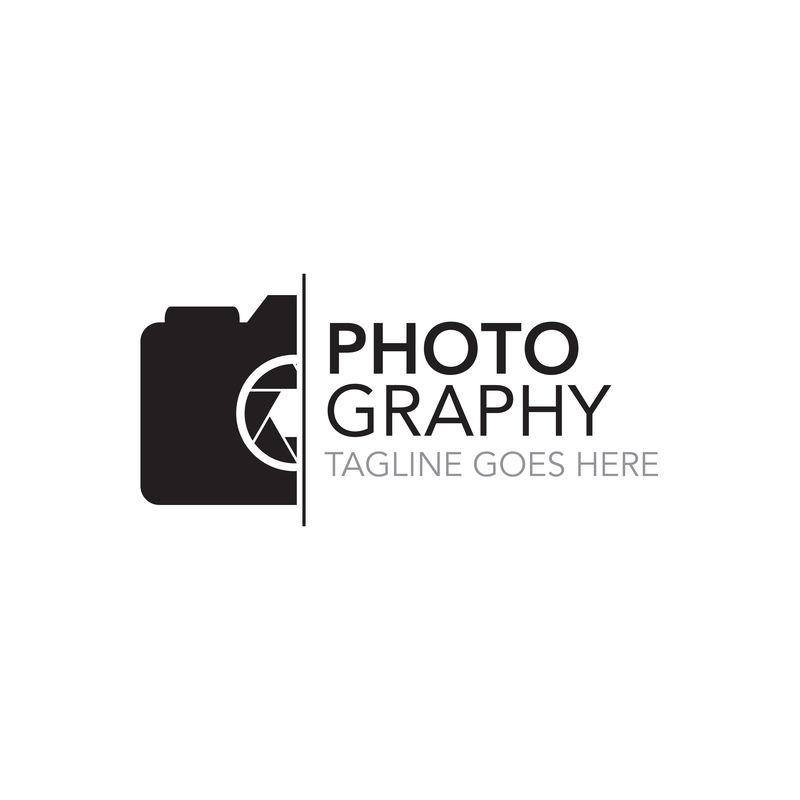 摄影标志模板