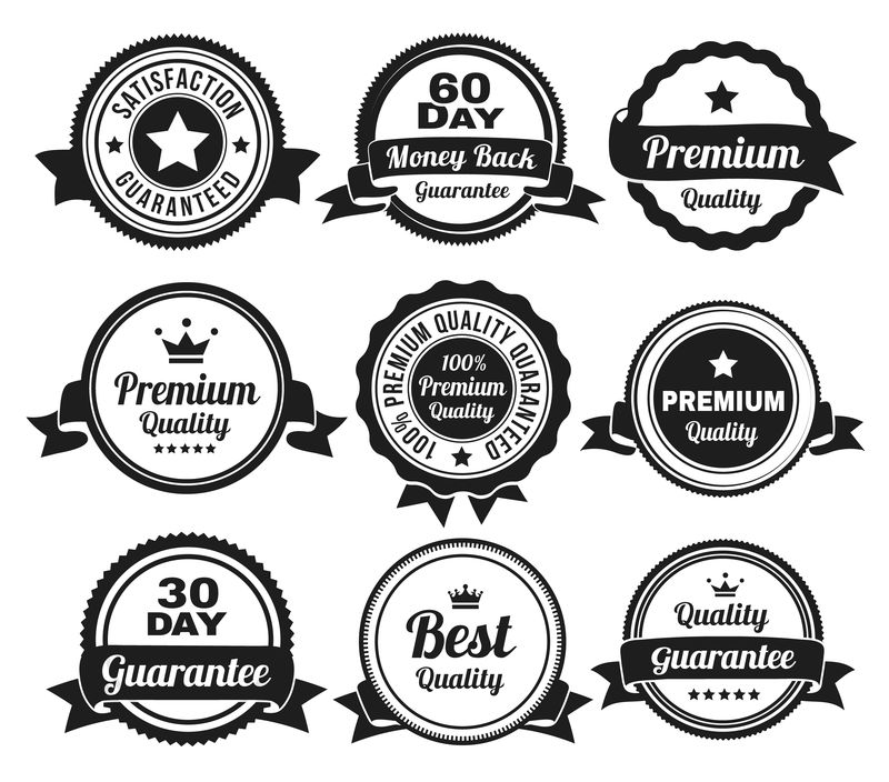 优质退款保证徽章