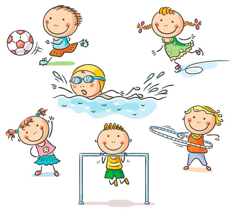 儿童及其体育活动