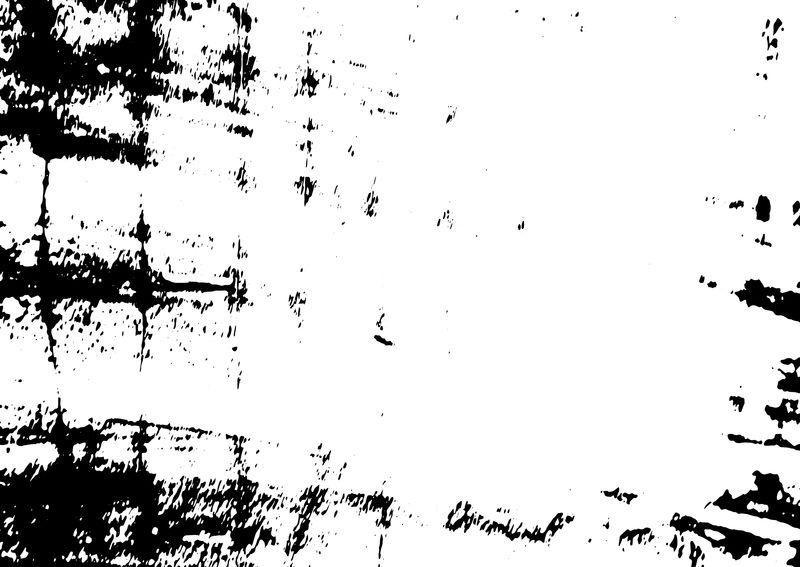 肮脏的黑白图案-单色粒子抽象纹理-深色设计背景面