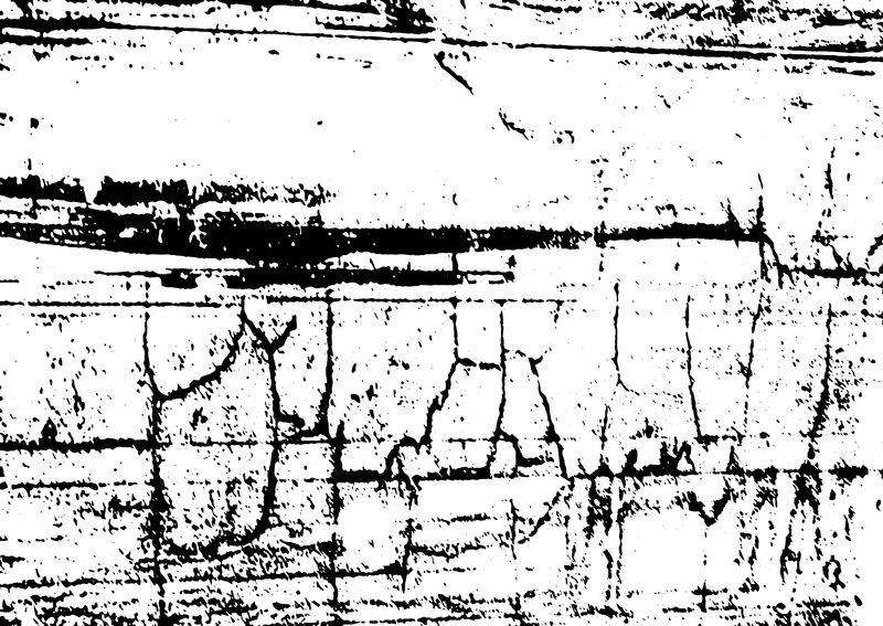 矢量粗糙的纹理破旧的木板与破裂的油漆-用于创建带有噪音、颗粒、小颗粒和线条的复古、老化图案-尘埃覆盖了遇难背景-城市设计-黑白