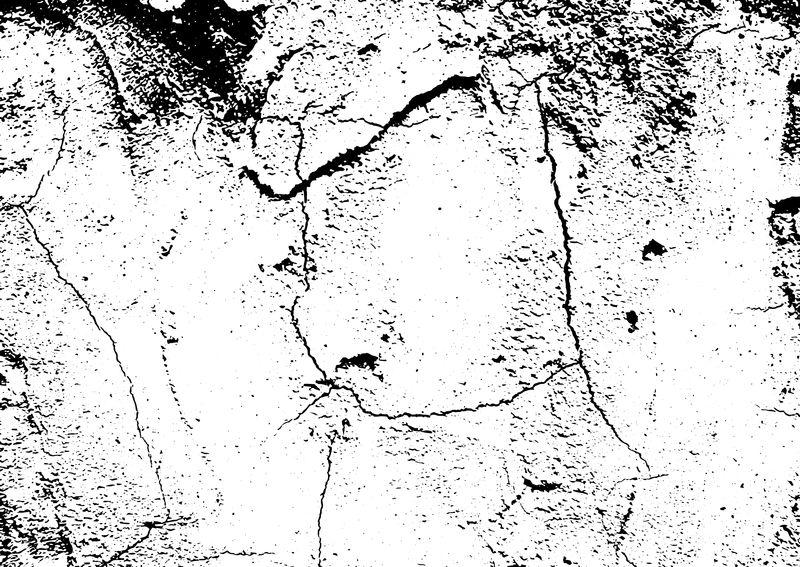 有划痕和裂缝的墙壁碎片-在任何设计上都加上杂乱的插图-具有复古效果的抽象颗粒背景