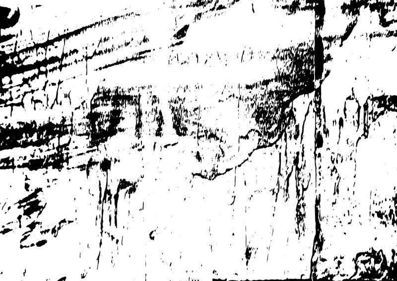 肮脏的灰尘凌乱的背景-容易创建抽象复古-点-刮痕效果与粮食和噪音-过时的设计元素-黑白向量