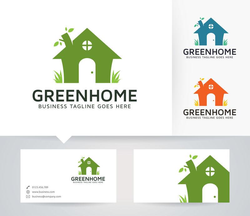 绿色家园-矢量快模板