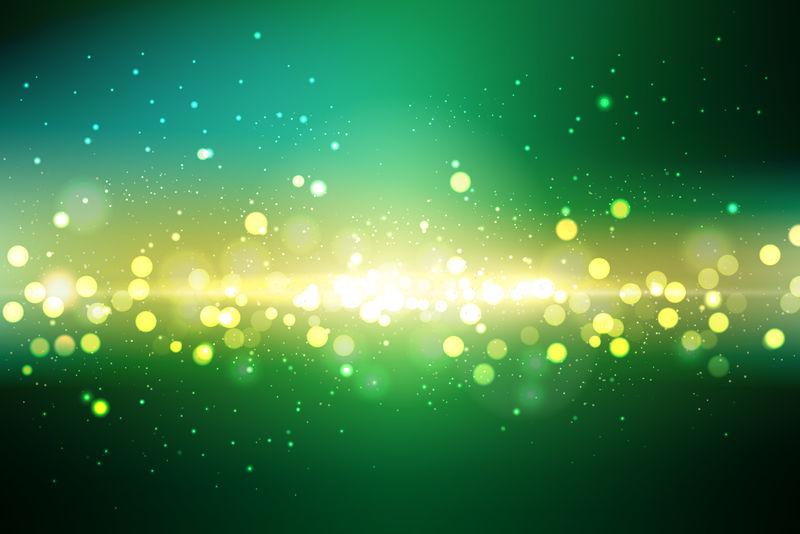 抽象光背景-矢量图解