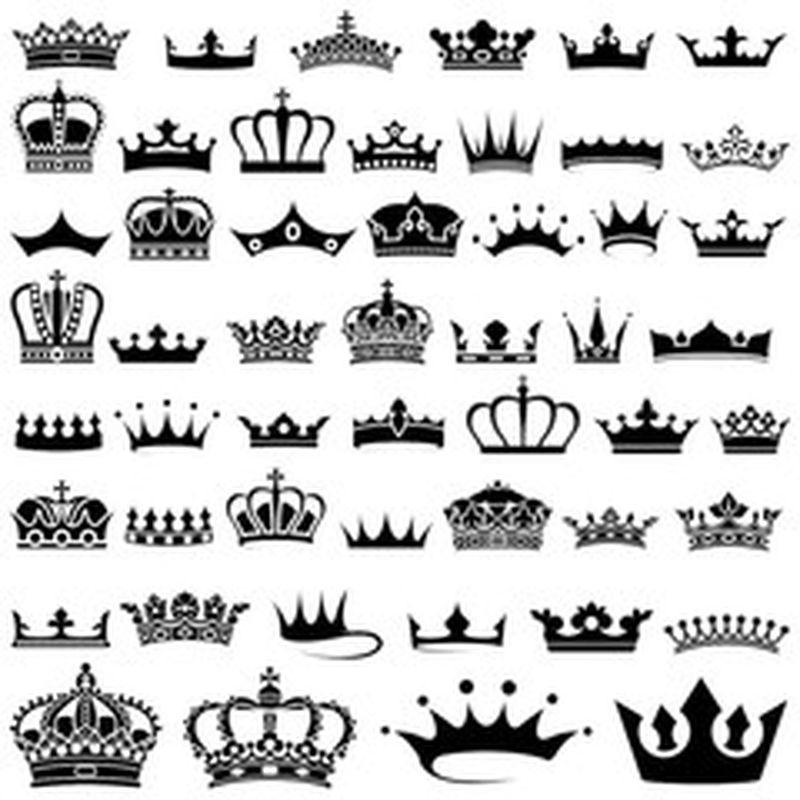 无缝皇冠图案