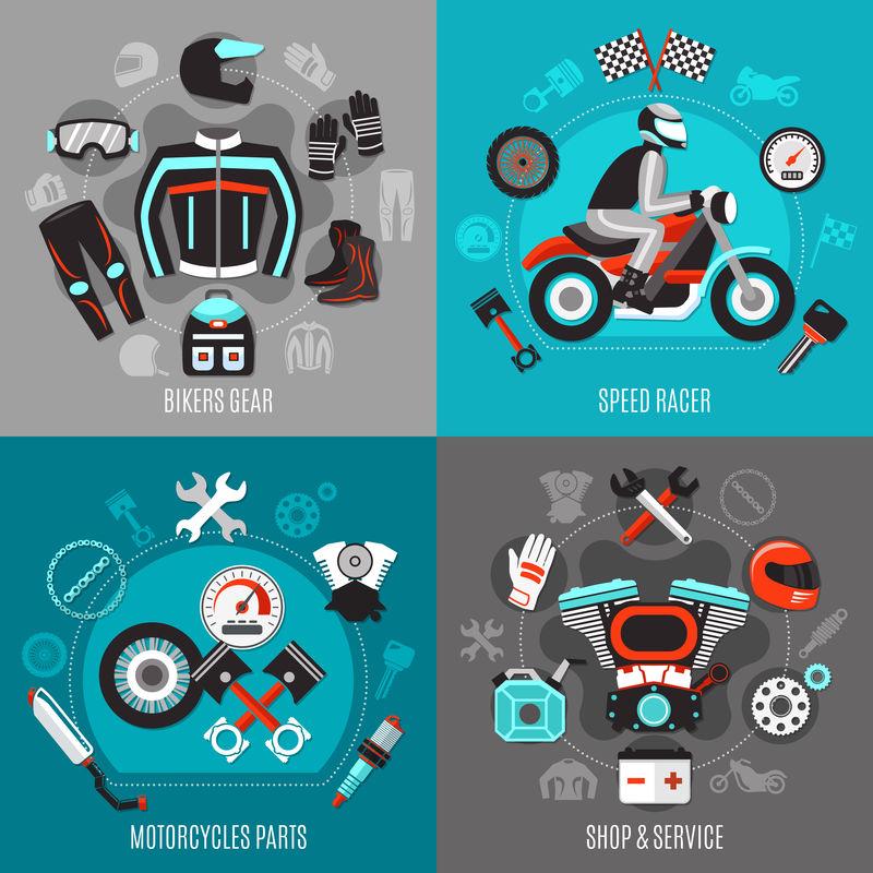摩托车2x2设计理念