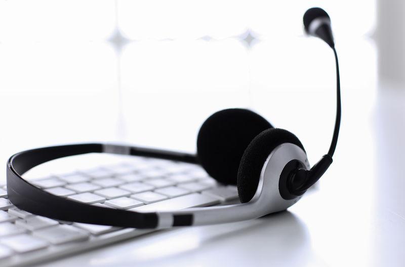 通信支持、呼叫中心和客户服务帮助