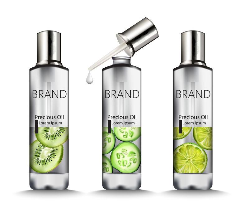 水果画银油瓶