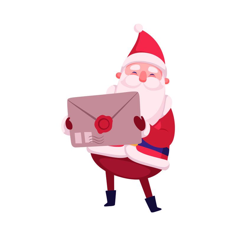 圣诞老人卡通偶像形象