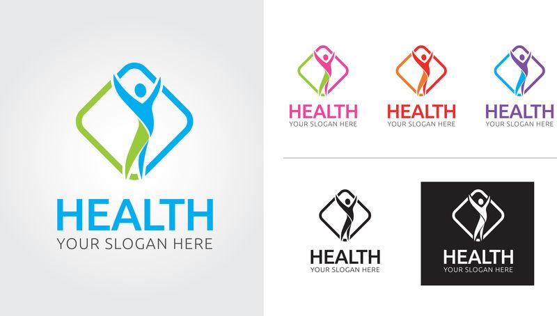 健康页徽标模板