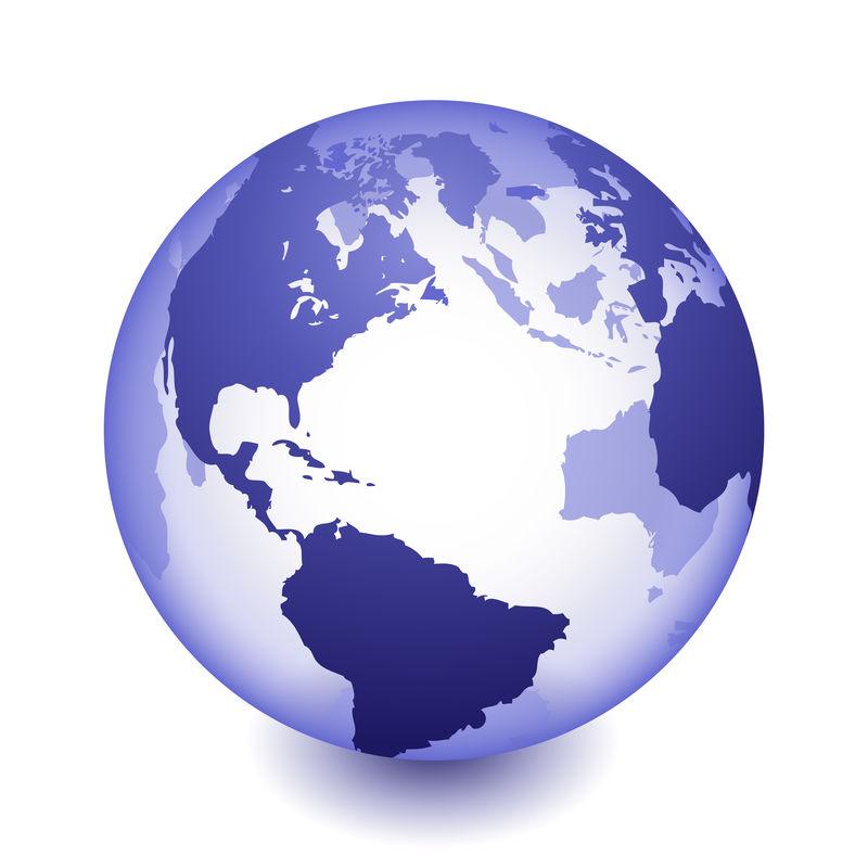 地球全球矢量