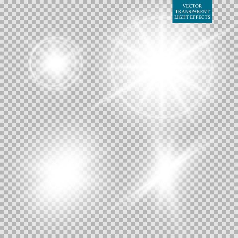 照明火炬组的抽象图像-股票向量