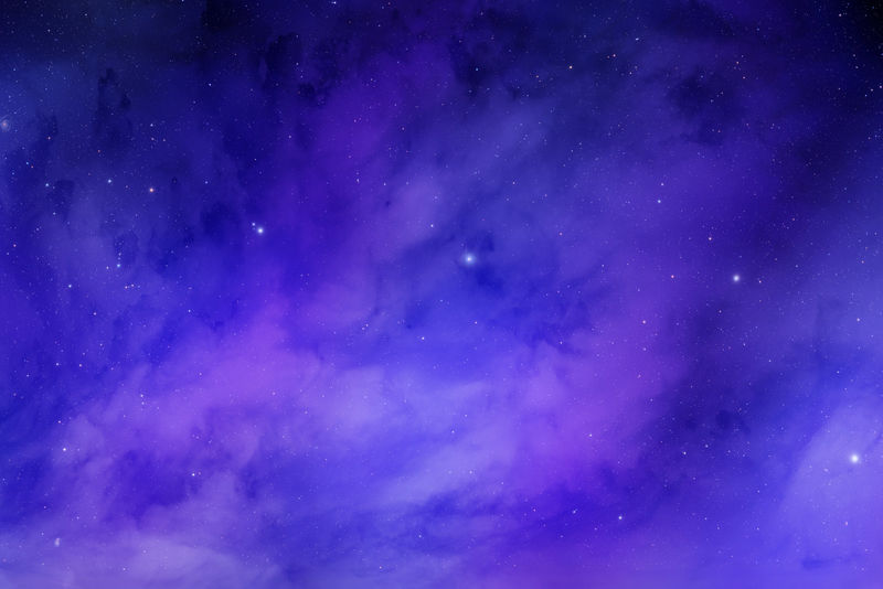 夜空恒星背景-宇宙中的星云云