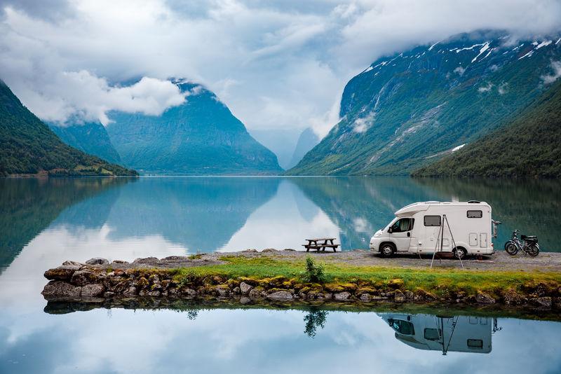 家庭度假旅行、房车度假旅行