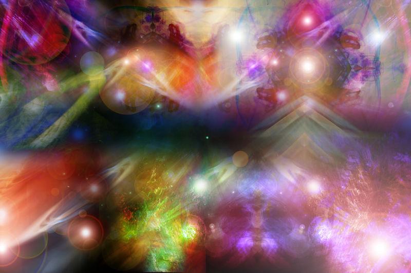 银河数码艺术背景