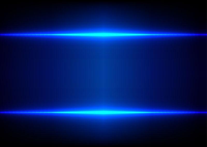 抽象蓝光效果背景