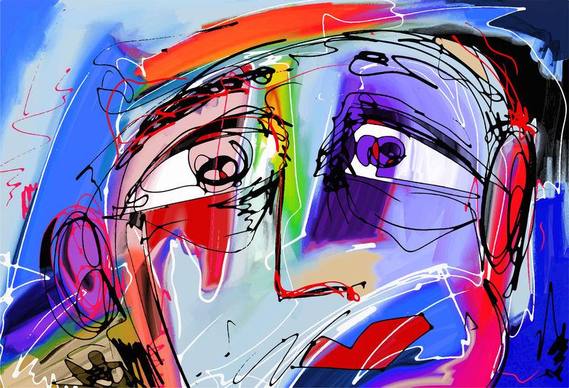 画 抽象 「具体」白髪一雄にみる,抽象画の可能性