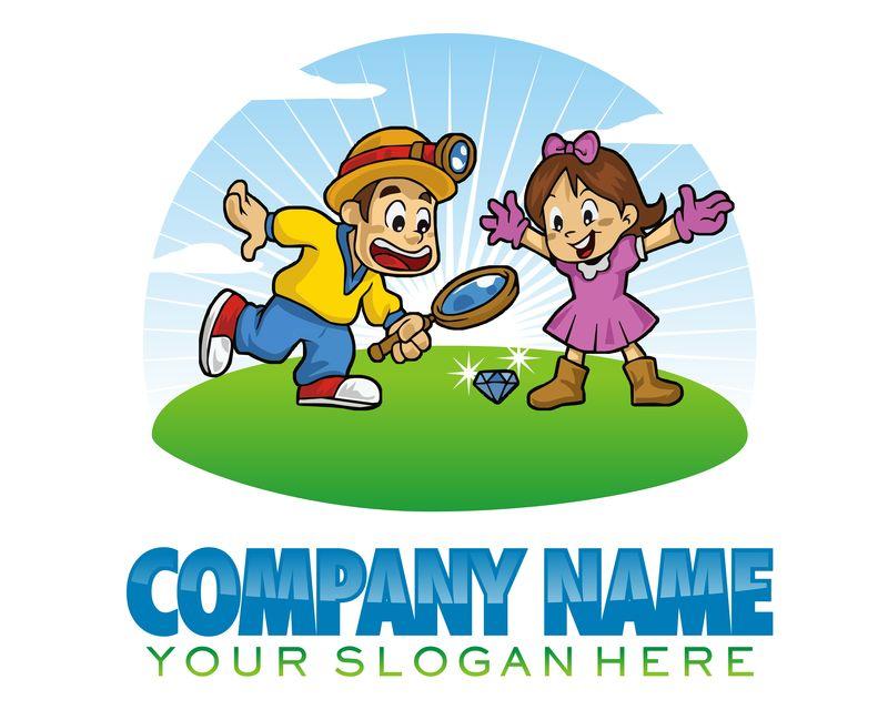 矢量企业商标