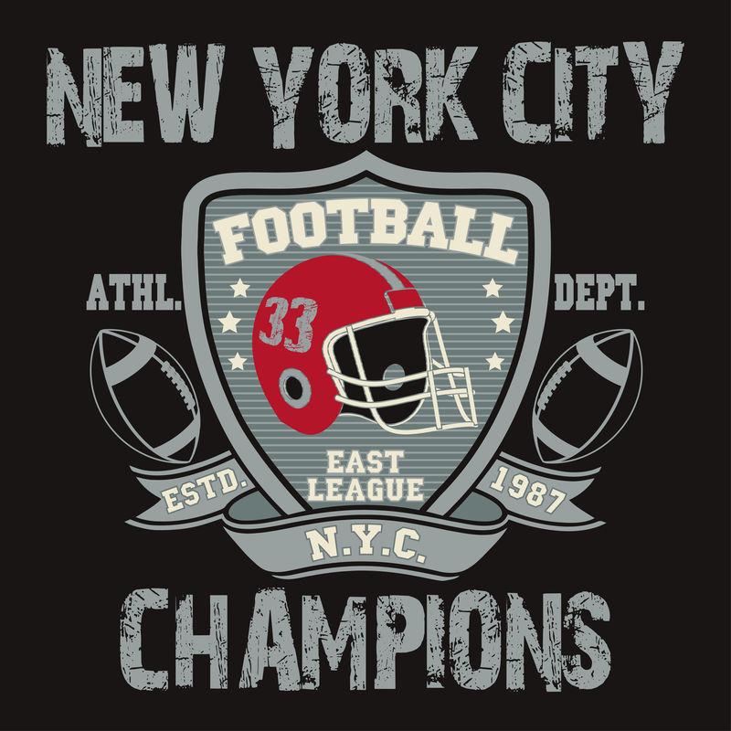 纽约体育印刷,足球标志