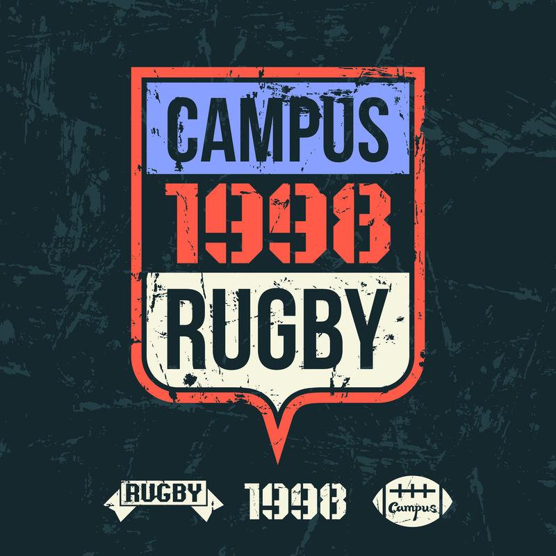 大学橄榄球队会徽