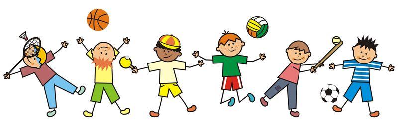 运动男孩-矢量图标-快乐的孩子们-有趣的插图