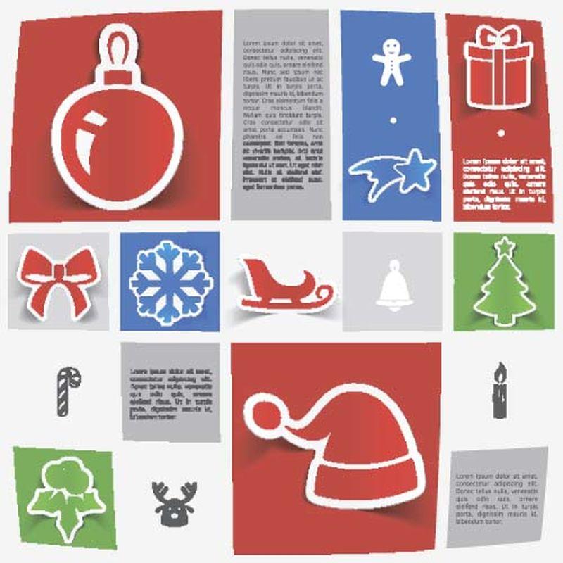 矢量圣诞节元素
