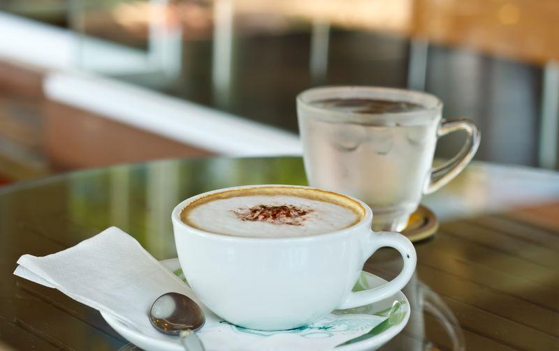 咖啡与咖啡豆