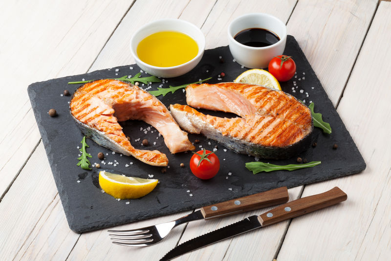 三文鱼系列的美食