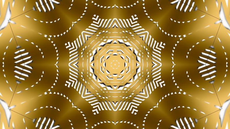 金色图案背景