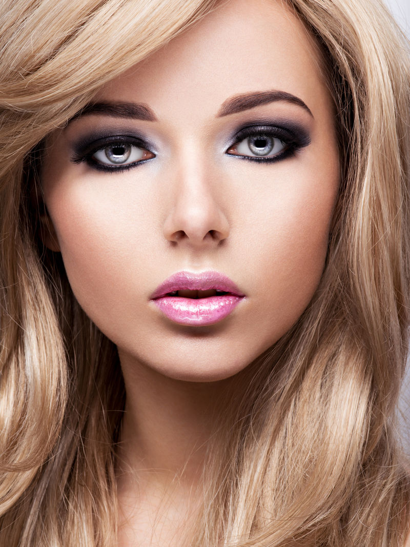 化妆美女肖像