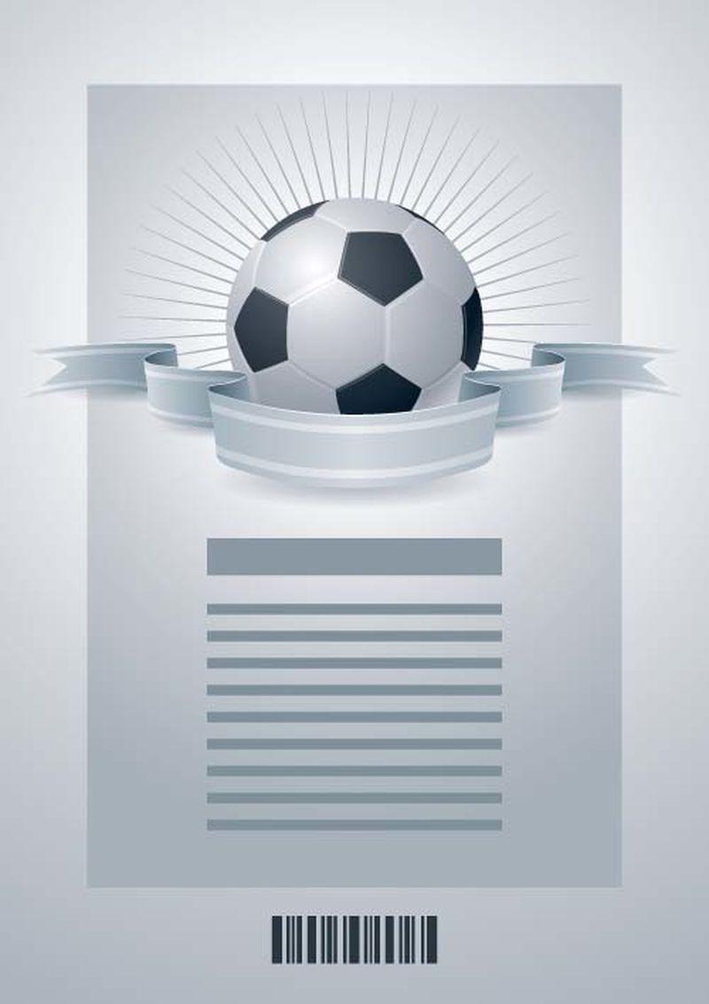 足球模板。