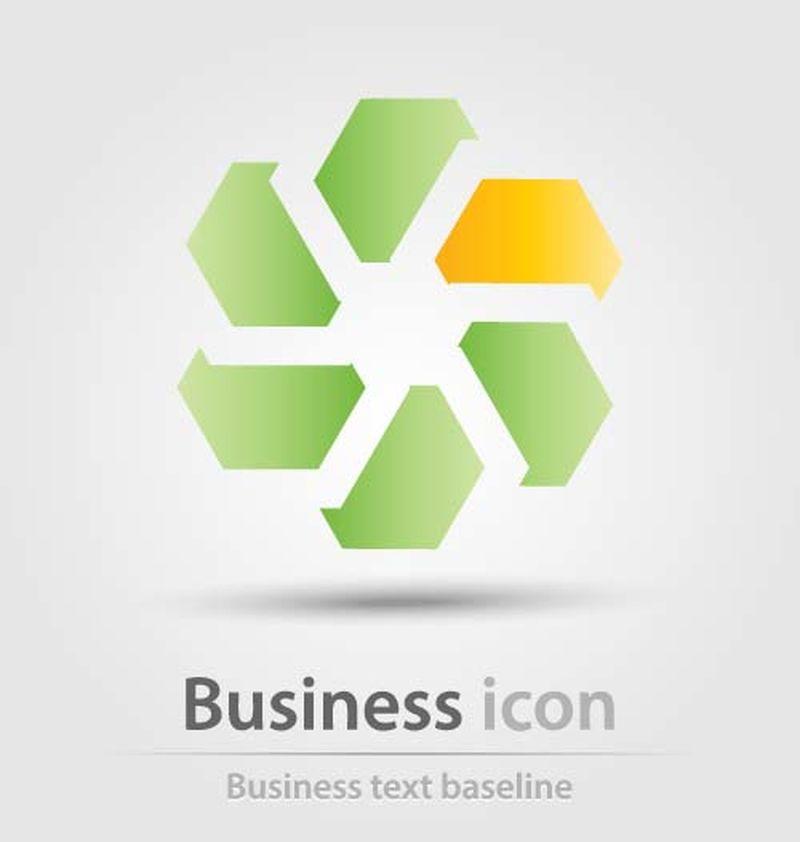 最初创建的商业图标