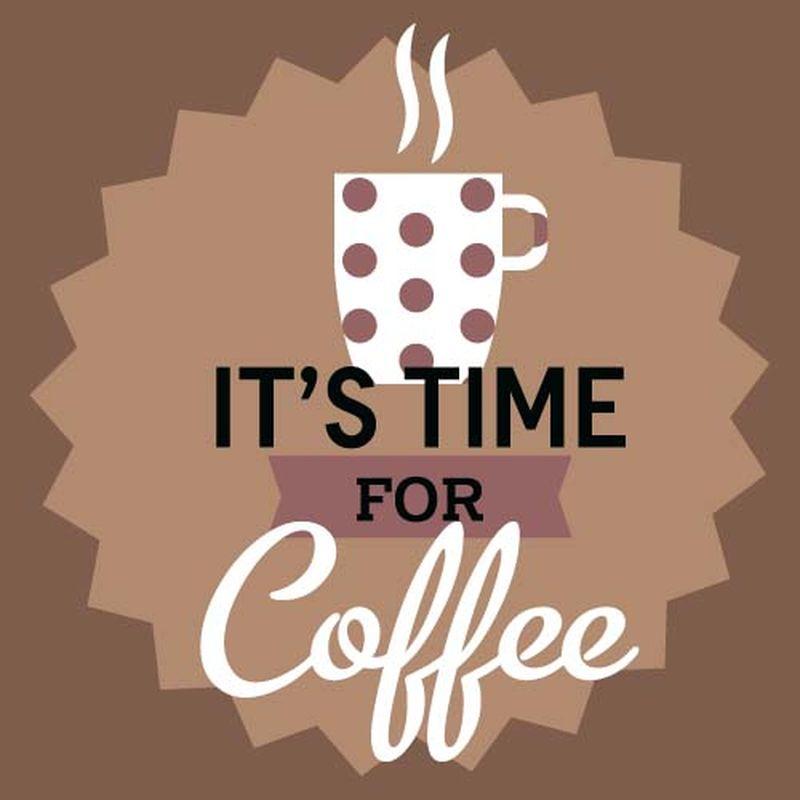 矢量咖啡海报背景