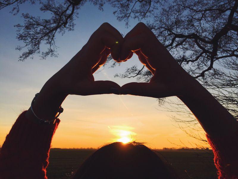 日落前的心