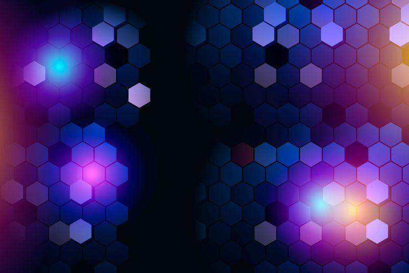 矢量彩色抽象背景