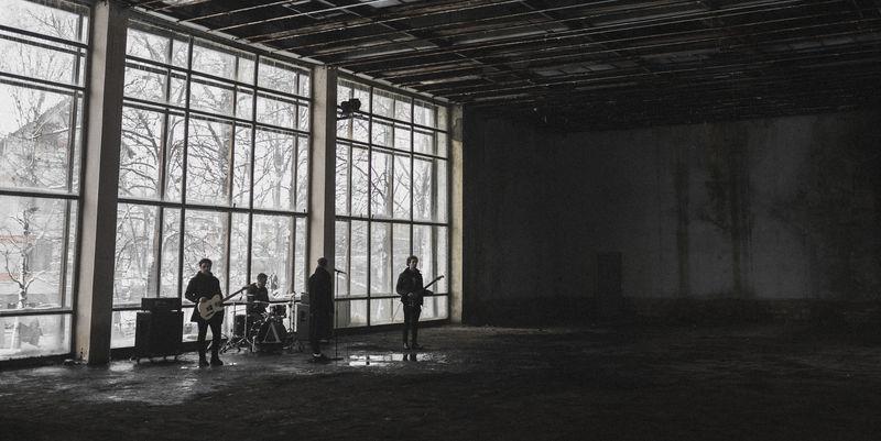 乐队音乐视频拍摄