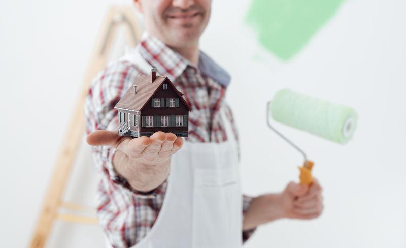 房屋建筑设计图与模板