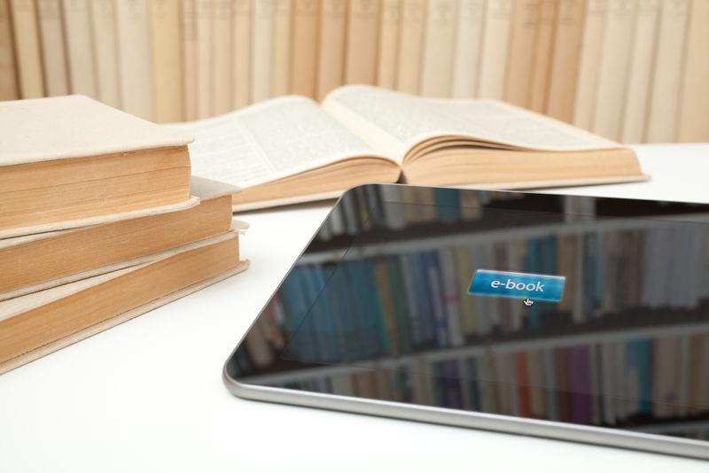 图书馆的书籍