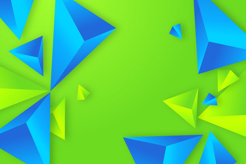 3D抽象矢量背景