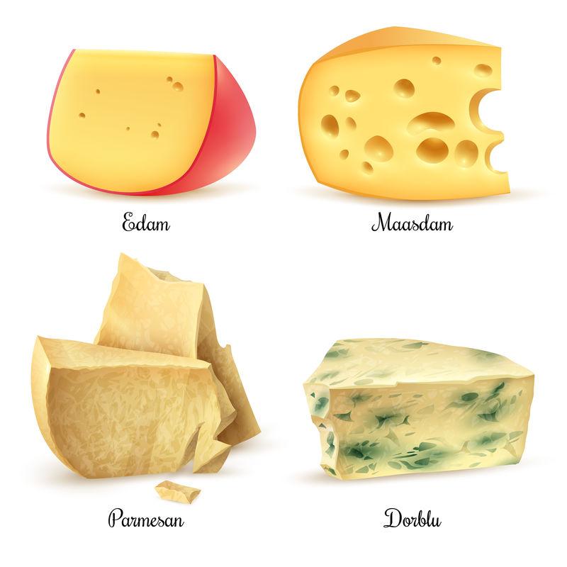 优质奶酪4真实图像集