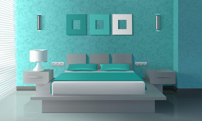现代卧室内饰