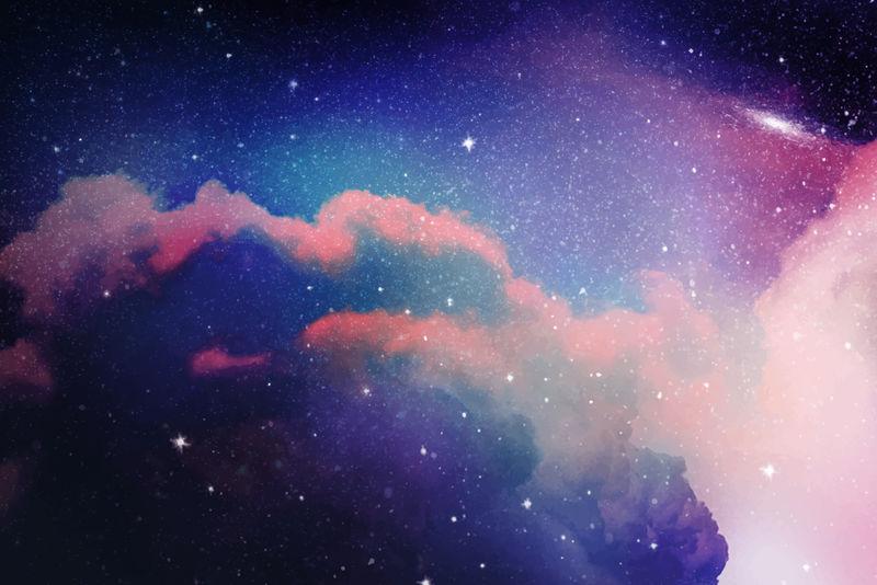 宇宙星空矢量背景