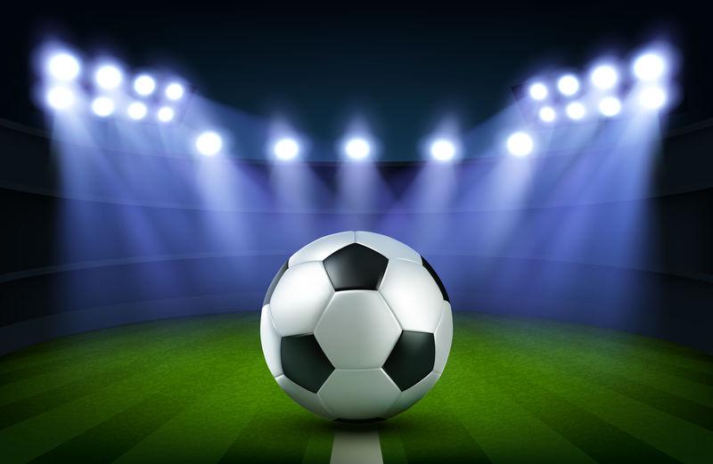 球场足球,足球场横幅