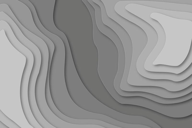 地形图矢量背景
