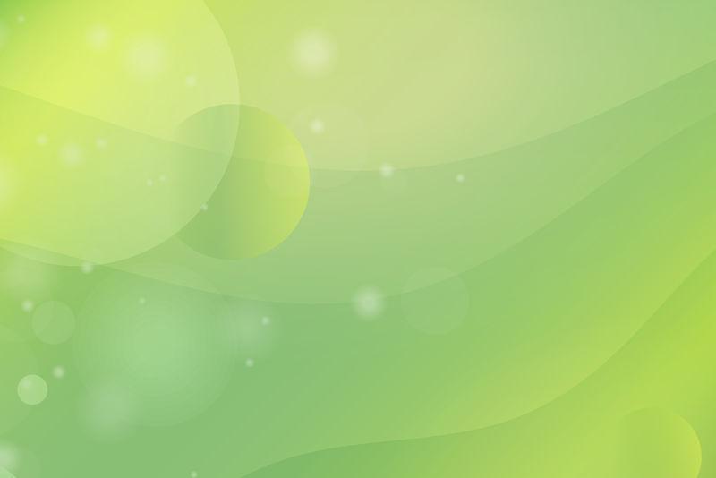 绿黄抽象背景向量