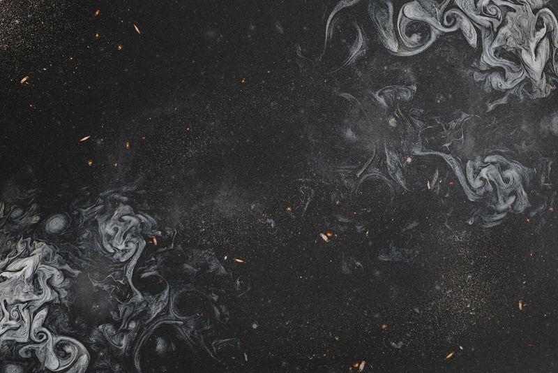 黑色烟熏艺术抽象背景