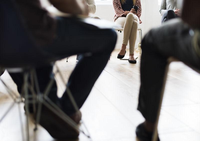 人员会议讨论会办公室概念
